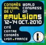 photo ou logo de Congrès Mondial de l'émulsion 2010